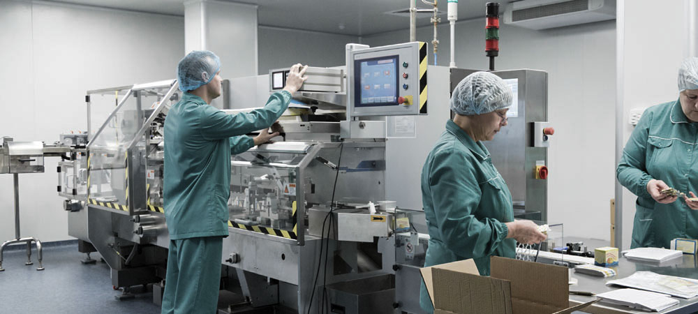 MEDICINAL PRODUCTS MANUFACTURING PLANT
